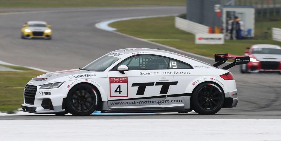 Audi TT cup #4, Aaron Mason